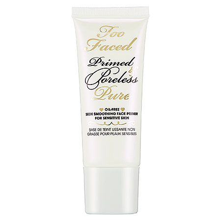Liesl Gutierrez, Liesl Loves Pretty Things, beauty blogger, beauty blog, interview, First Look Fridays interview series, Too Faced Primed & Poreless Pure Oil-Free Skin Smoothing Face Primer for Sensitive Skin, makeup