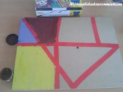 Pintura para niños: Pintura de formas geométricas