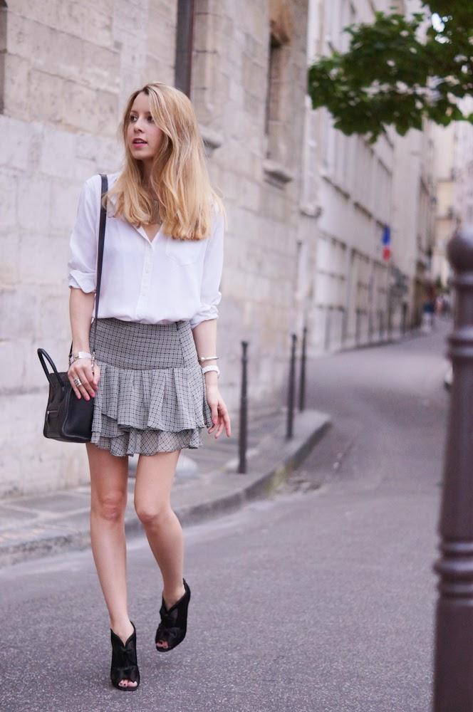 Mango, chanel, isabel marant, paris, streetstyle, céline, parisienne, chic, outfit, look