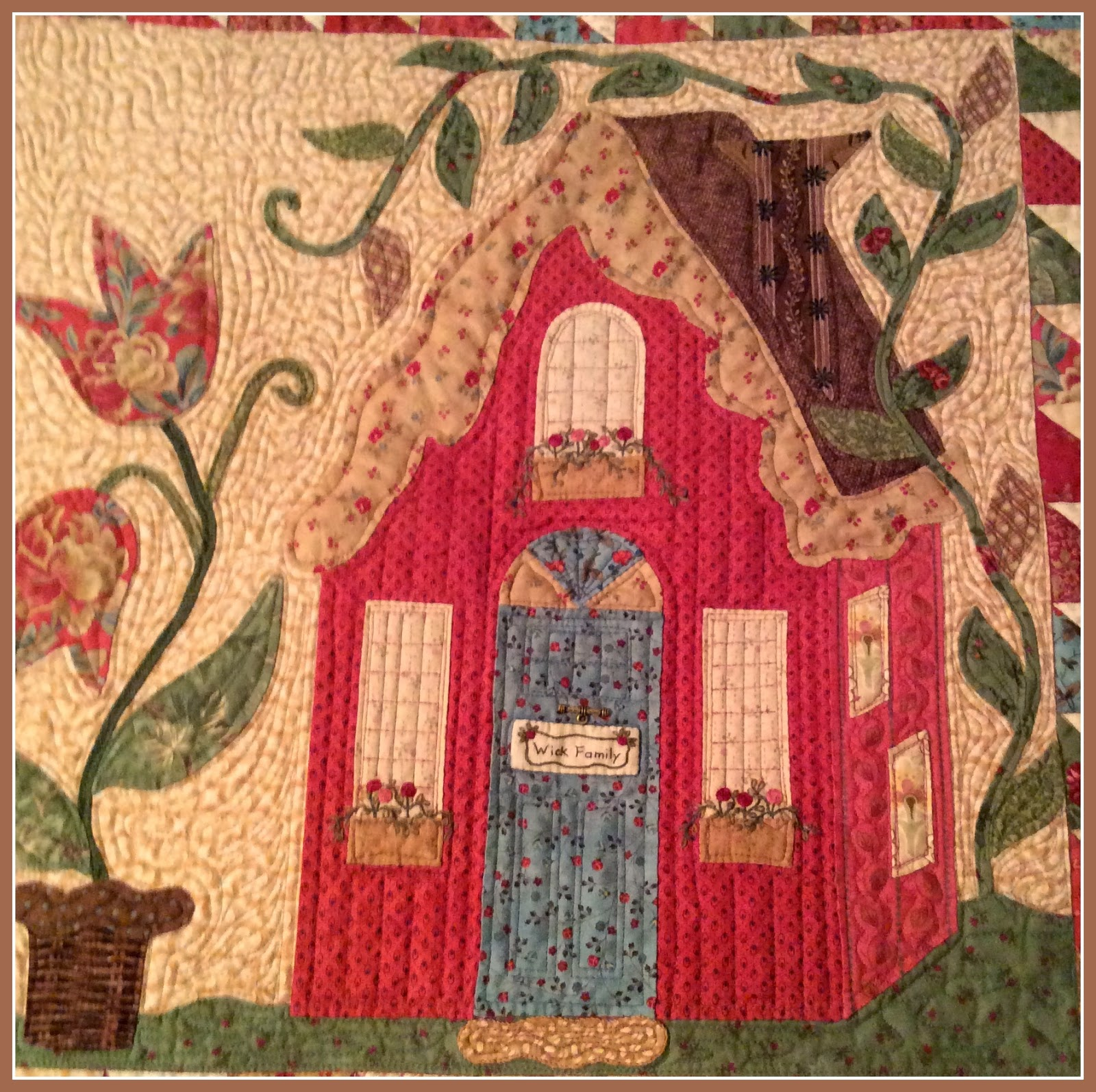 Karen's Quilts, Crows and Cardinals: Needle Turn Applique Catch Up ... : the quilting needle - Adamdwight.com