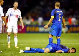 Itália 1x1 França - 2006