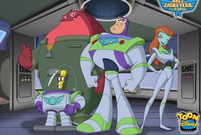 Buzz Lightyear do Comando Estelar 2000 Desenho 480p TVRip completo Torrent