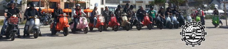 Vespa Scooter Club du Morbihan
