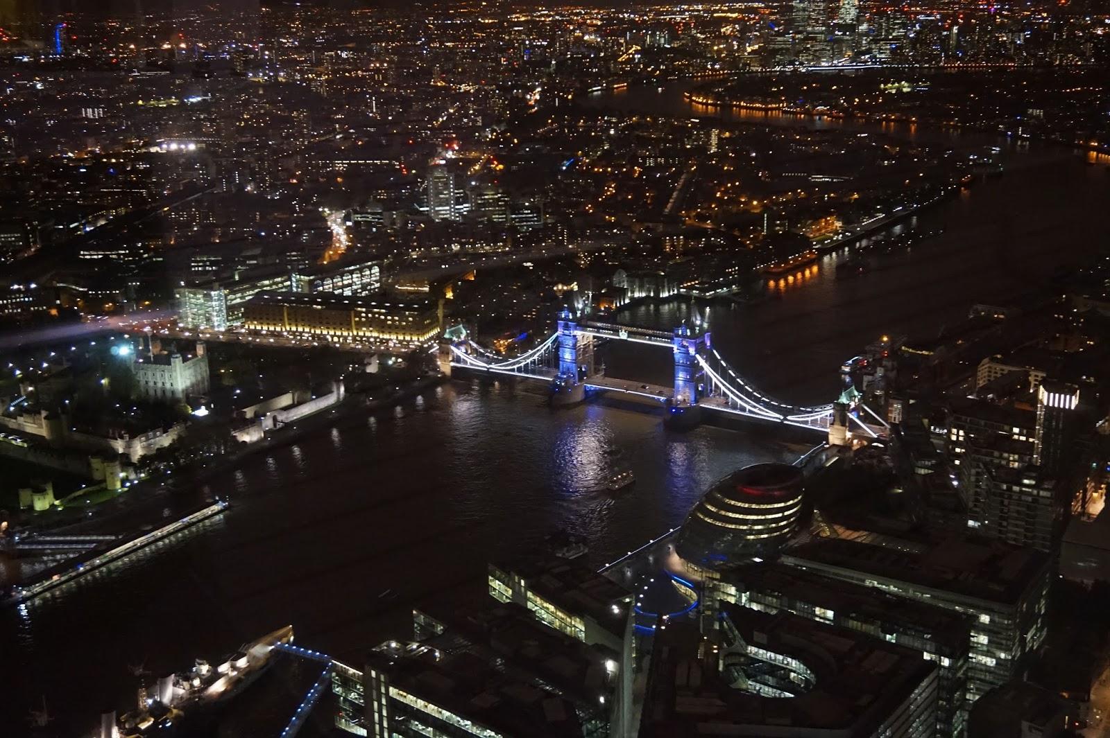 London night view shard