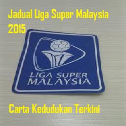 liga super malaysia 2015 dan carta kedudukan terkini liga super
