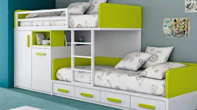 Girls bunk beds with storage - Bunk Beds With Storage Kids Bedroom Ideas For Tow Kids