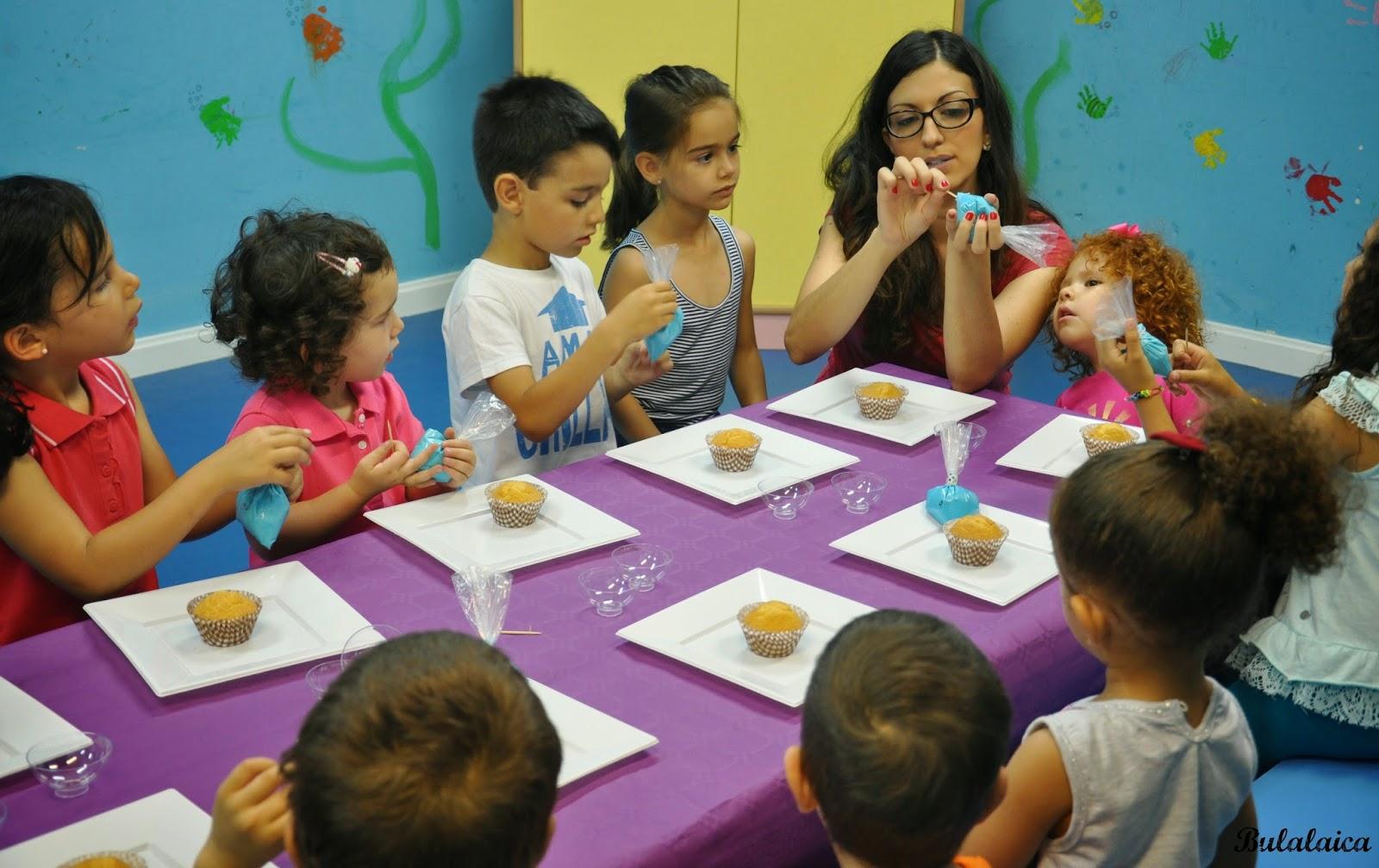 Taller Infantil de Decoración Cupcakes