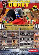 Garibay, El Chihuahua y Saldívar, anunciados en Doxey, el 28/08.