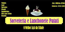 Sorveteria e Lanchonte  Patati