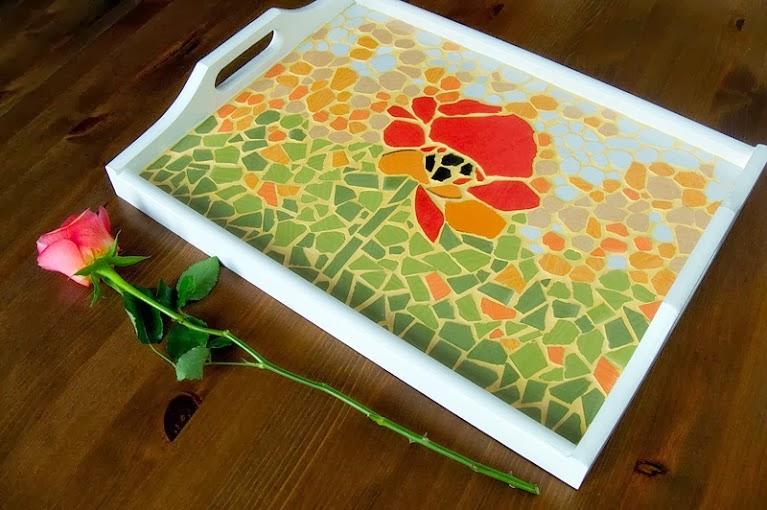 Środowe Inspiracje Magia mozaiki insprujące blogi handmade