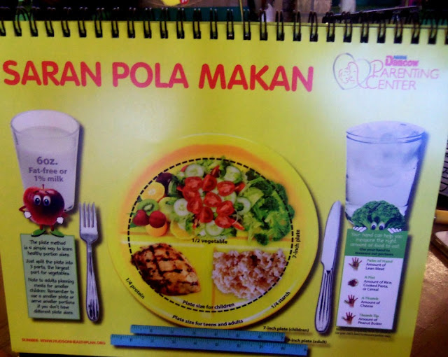 Porsi (pada) Pola Makan untuk Anak-Anak