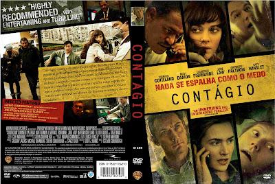 Contágio DVD Capa