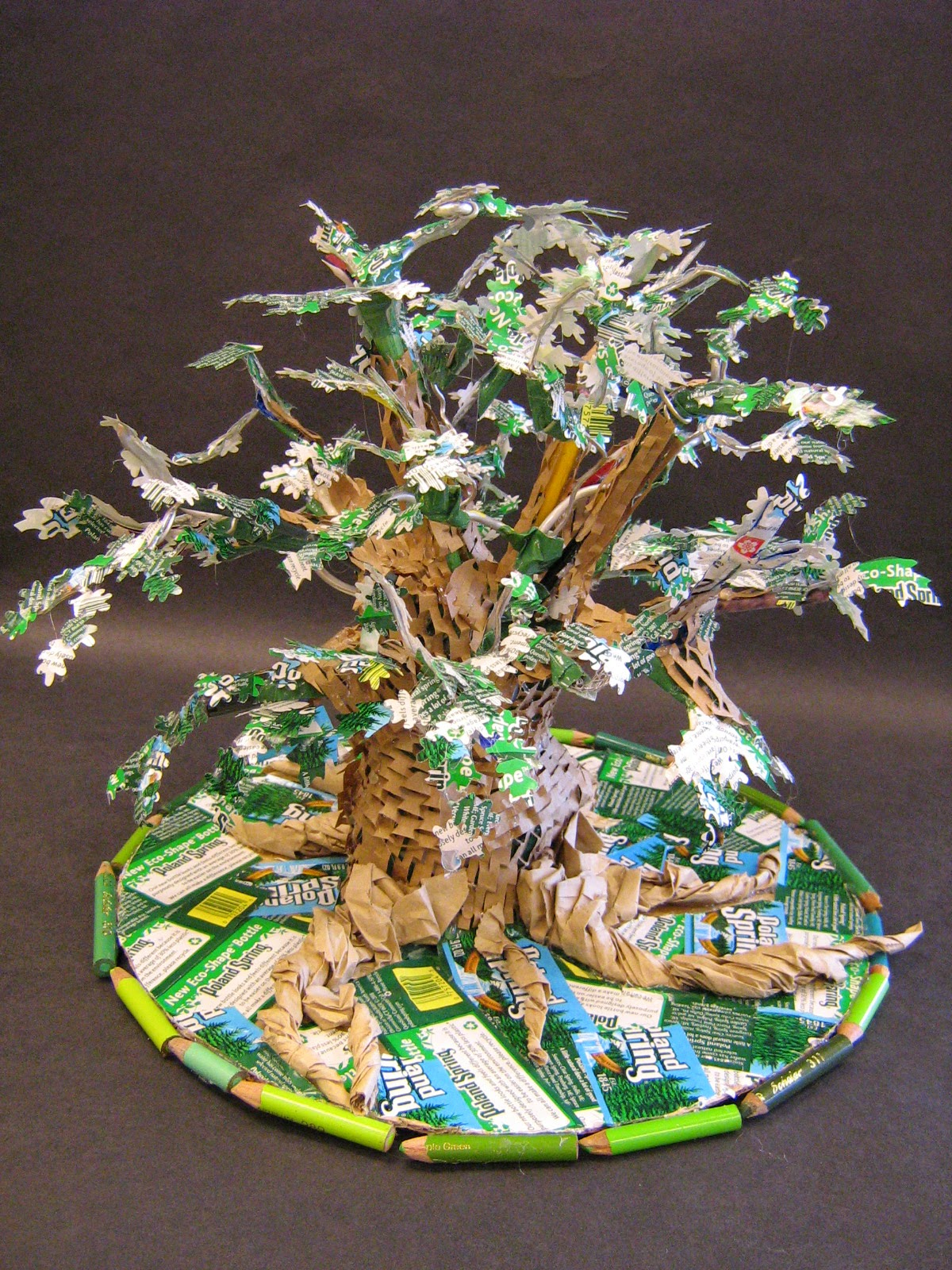 Recycled art project ideas art craft gift ideas - Recycled can art projects ...