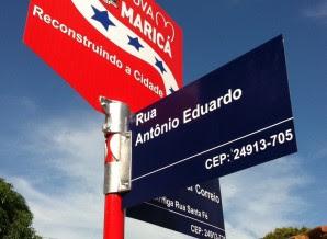 Agora, cada rua de Maricá tem seu CEP