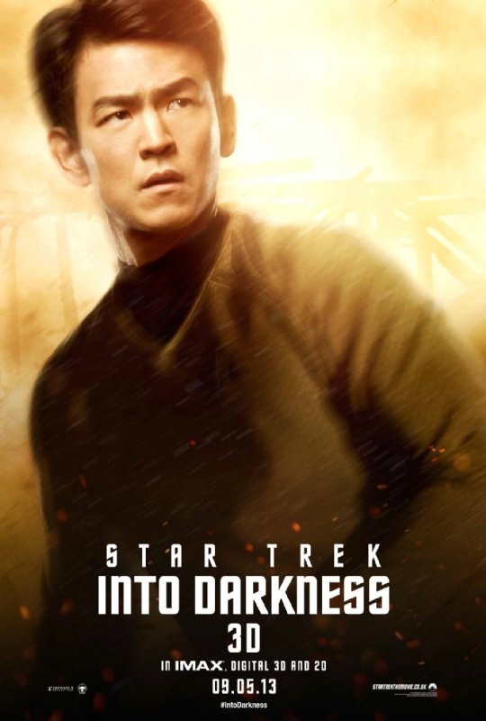 Star Trek Into Darkness - Lt. Sulu - A Constantly Racing Mind