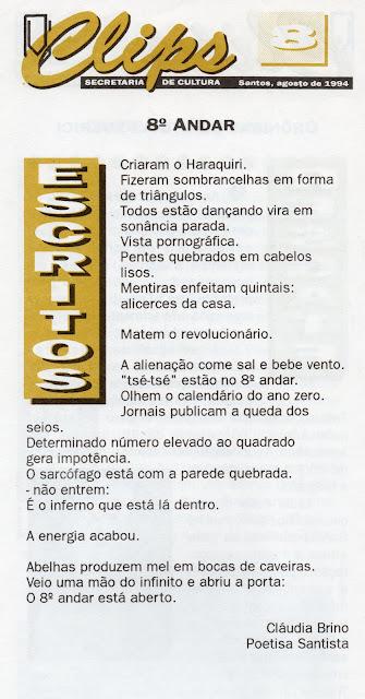 Informativo da Secult/Santos
