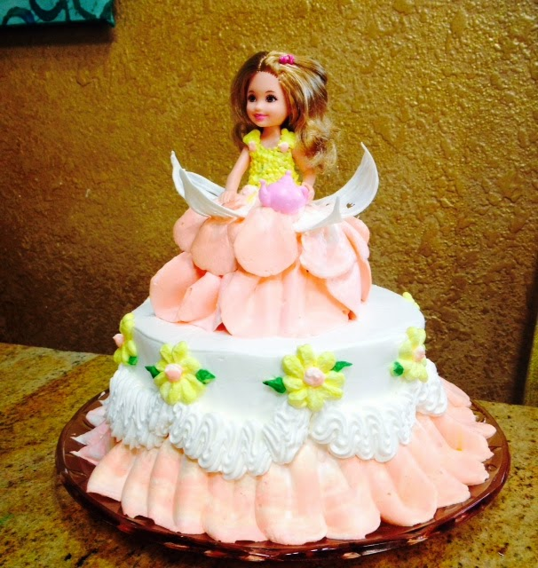 Barbie Doll Cake Decorating Ideas : Frosted Art: Mini Barbie Doll Cake- Cake Decorating- Video