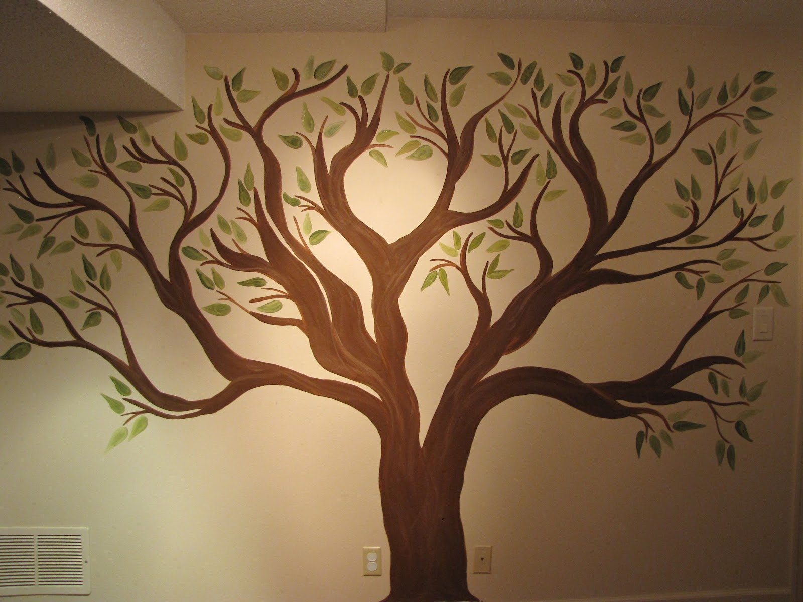 creative genius art family tree wall mural decorating theme bedrooms maries manor tree murals