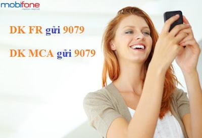 Cú pháp tham gia khuyến mãi MCA và Funring Mobifone