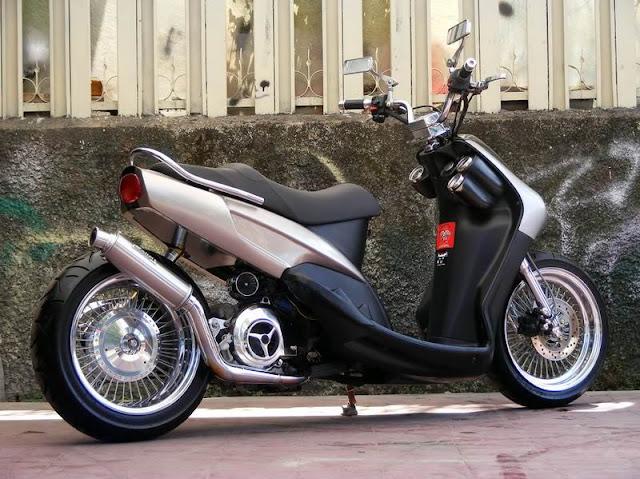Modifikasi Motor Mio