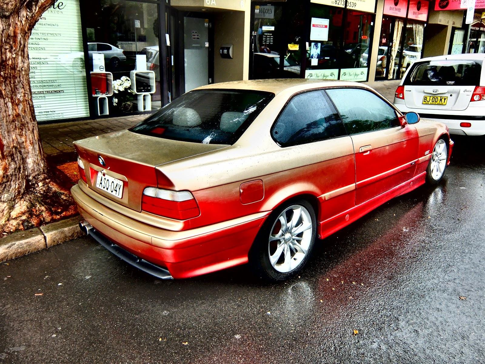 aussie old parked cars 1996 bmw m3 coupe e36 custom. Black Bedroom Furniture Sets. Home Design Ideas