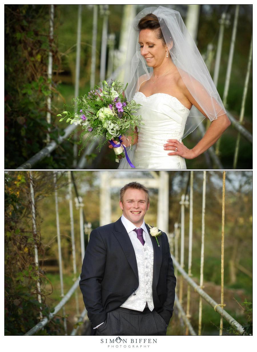 Bride & Groom portraits - Simon Biffen Photography