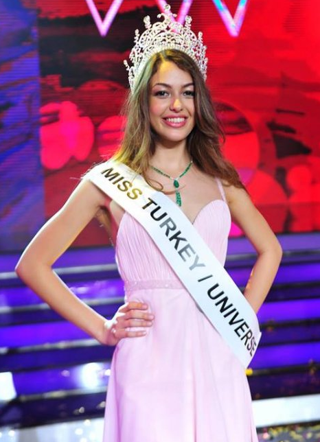 Miss Turkey Universe 2014 winner Dilan Cicek Deniz