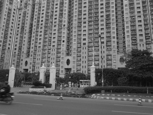 Gloss and glamour of high rises and gated communities