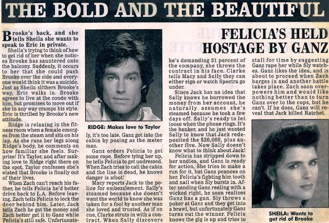 The soap opera saga the bold and the beautiful recap september 15