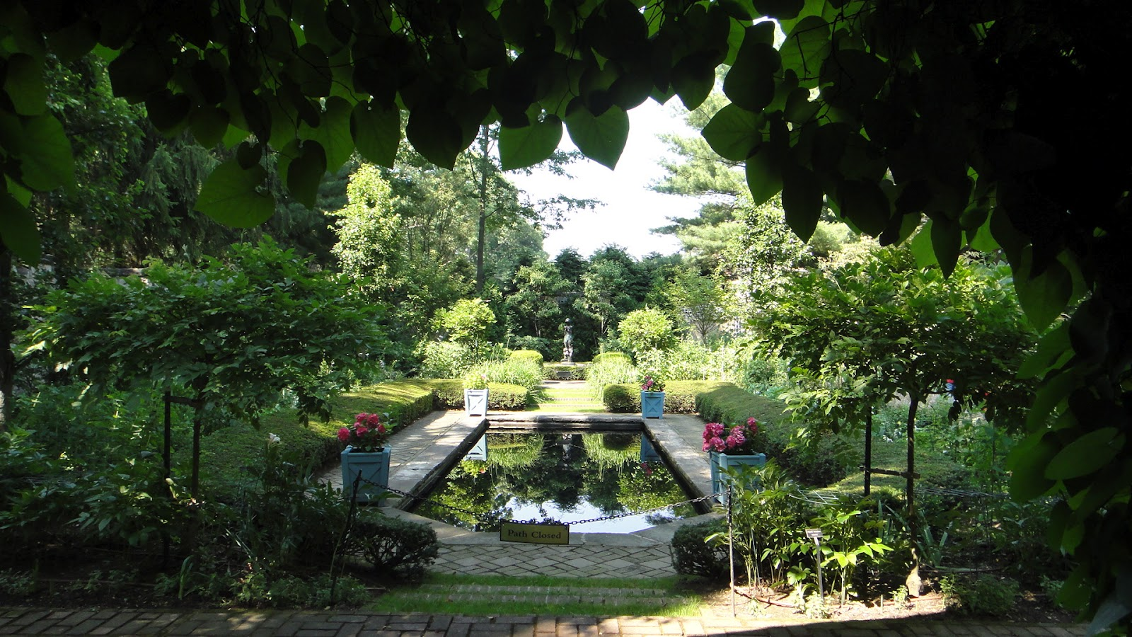 Roadtoparnassus stan hywet hall in akron ohio for English garden pool