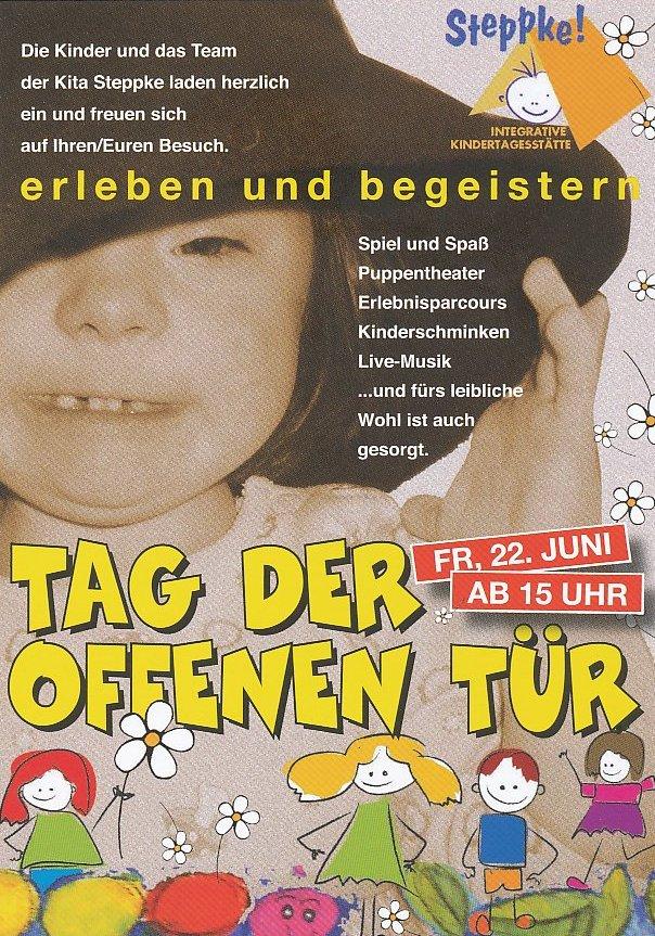 kita steppke » einladung zum tag der offenen tür 2012, Einladungen