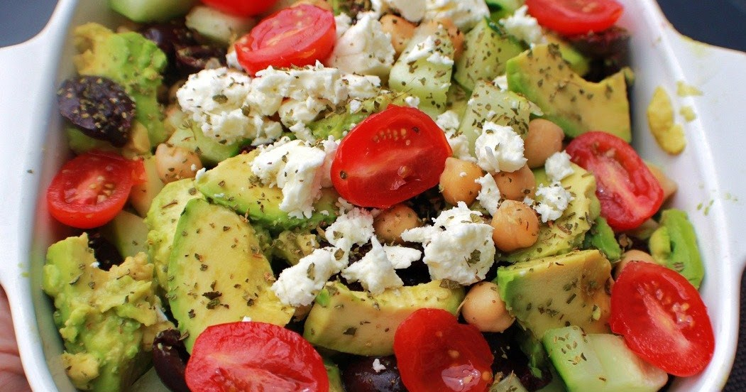 ... Style Cuisine: Avocado Chickpea Cucumber and Tomato Salad Recipe