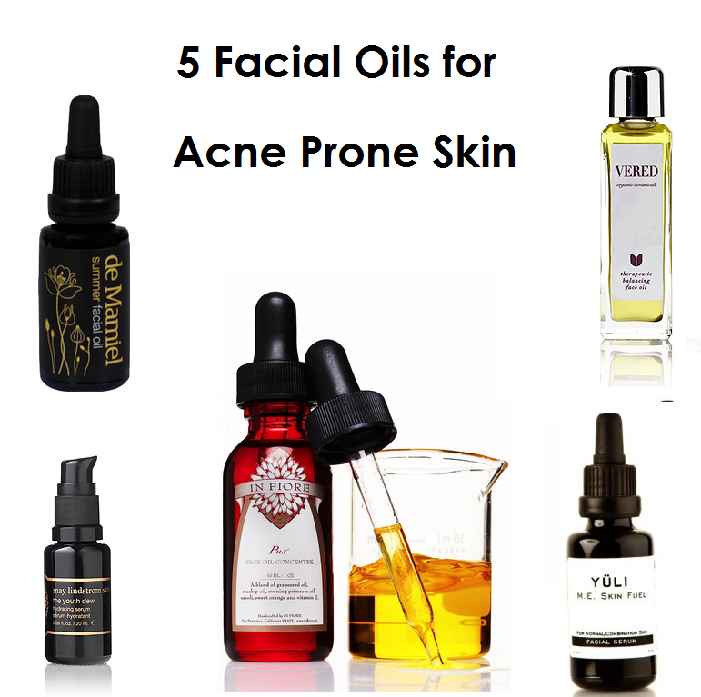 oils for acne prone skin