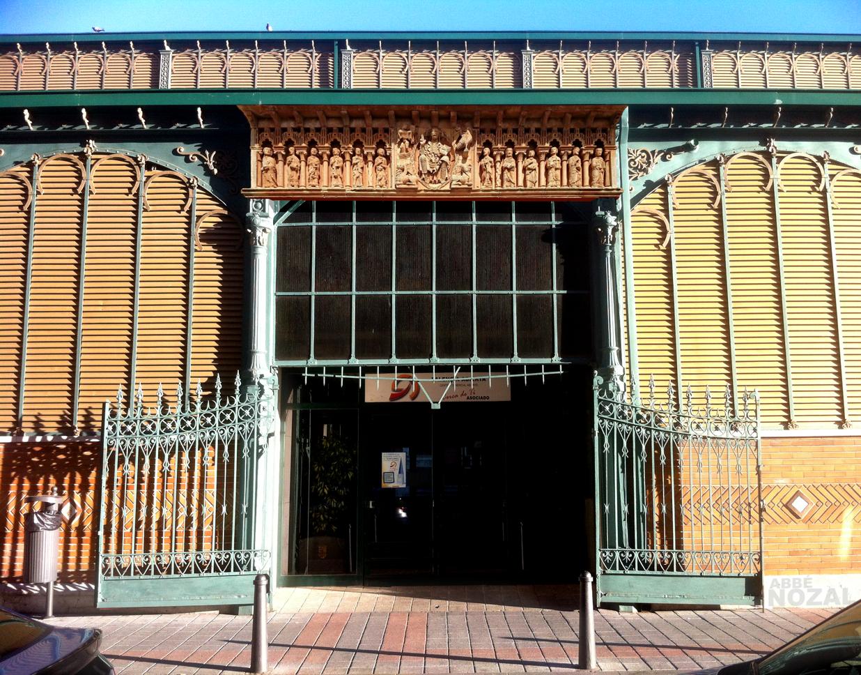 Plaza de Abastos de Palencia Moarves, 2015 Abbé Nozal