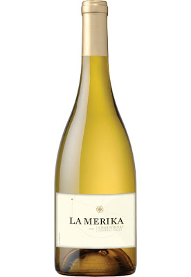 picture of a bottle of La Merika Chardonnay 2011
