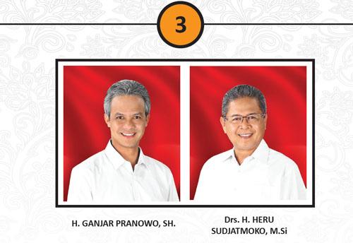 Calon Pasangan Gubernur Dan Wakil Gubernur 2013 No. 3