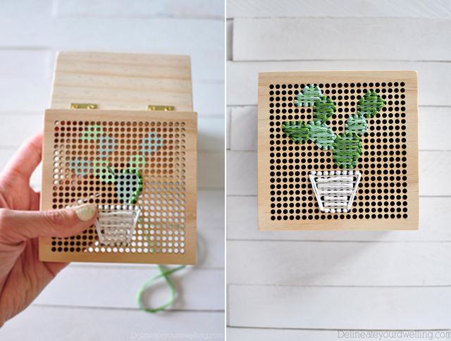 DIY-como-bordar-uma-caixa-de-madeira
