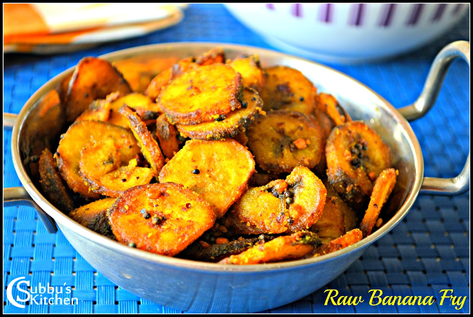 Vazhakkai Varuval Recipe | Vazhakkai Roast recipe| Raw Banana Fry Recipe | Vazhakkai Fry Recipe