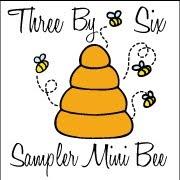 3x6 Bee Badge