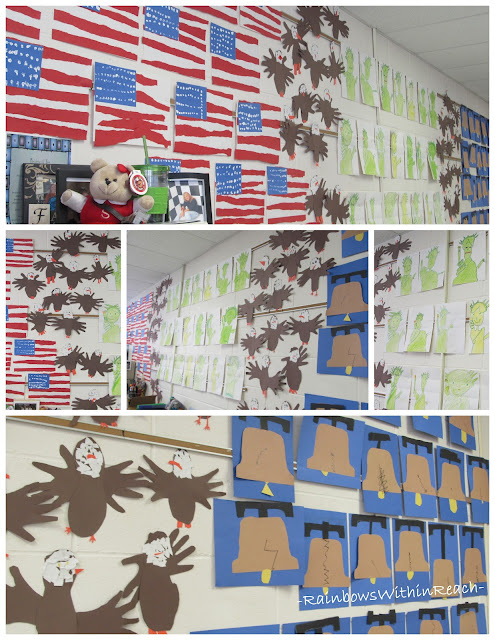 photo of: Kindergarten Patriotic Americana Symbols