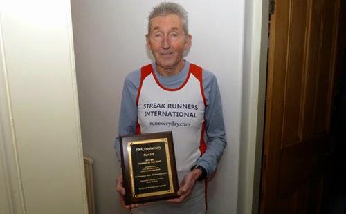 La Mulţi Ani, Ron Hill, după 50 de ani de alergare în fiecare zi. Streak
