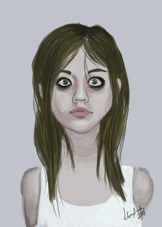 Stacey's Art Blog: Digital Painting of Allison Harvard ...