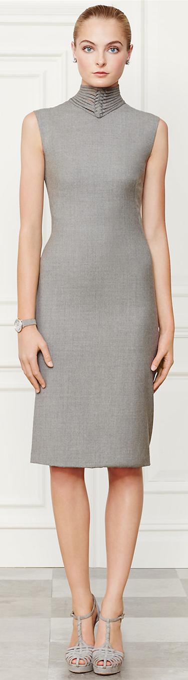 Ralph Lauren Leanna Dress Fall 2014 Collection