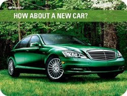 How would you like to earn a new car?
