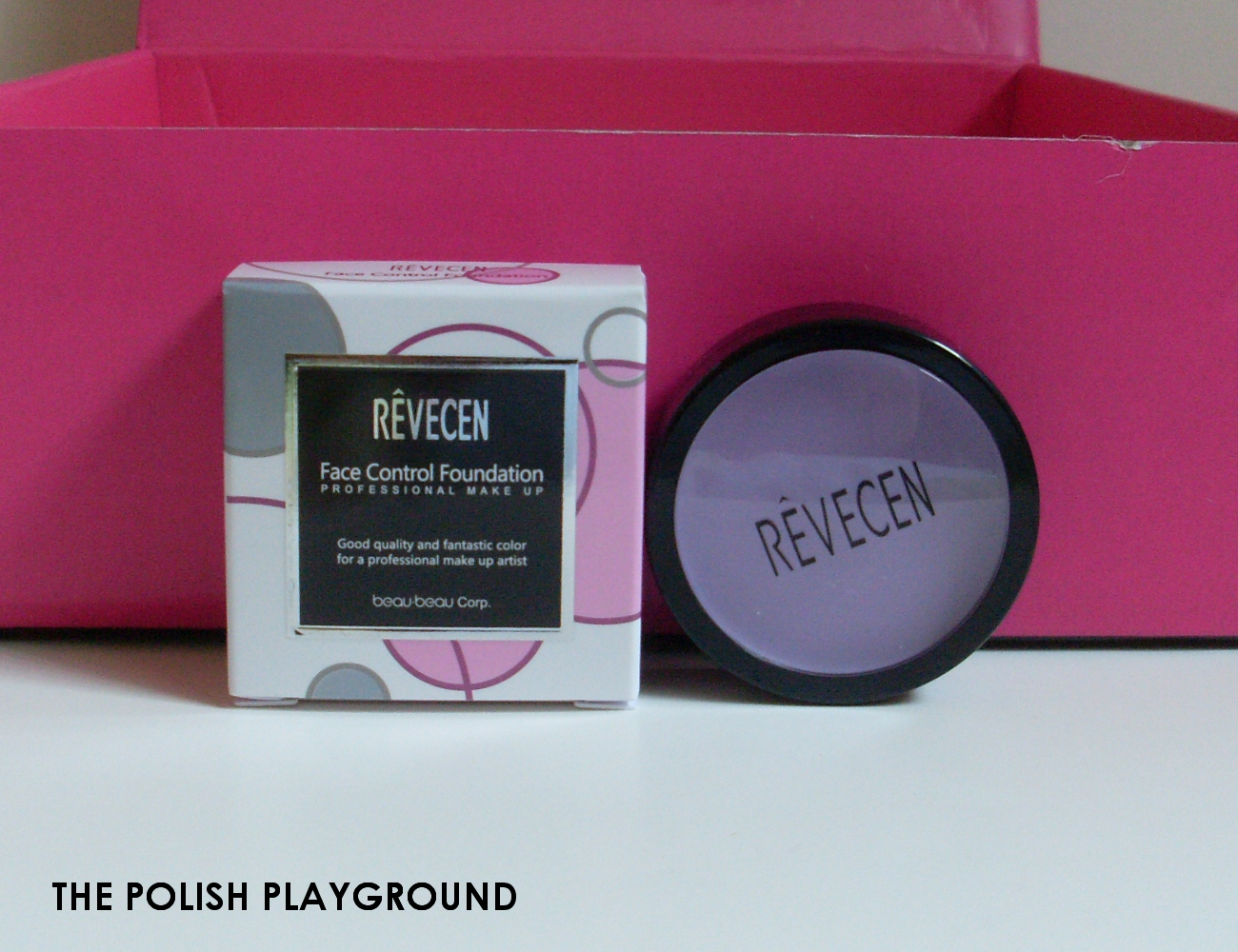 Memebox Luckybox #11 Unboxing - Revecen Face Control Foundation in #002 Violet