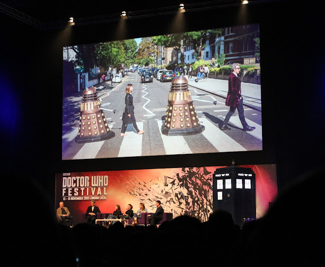 Doctor Who Festival 2015 - cast panel
