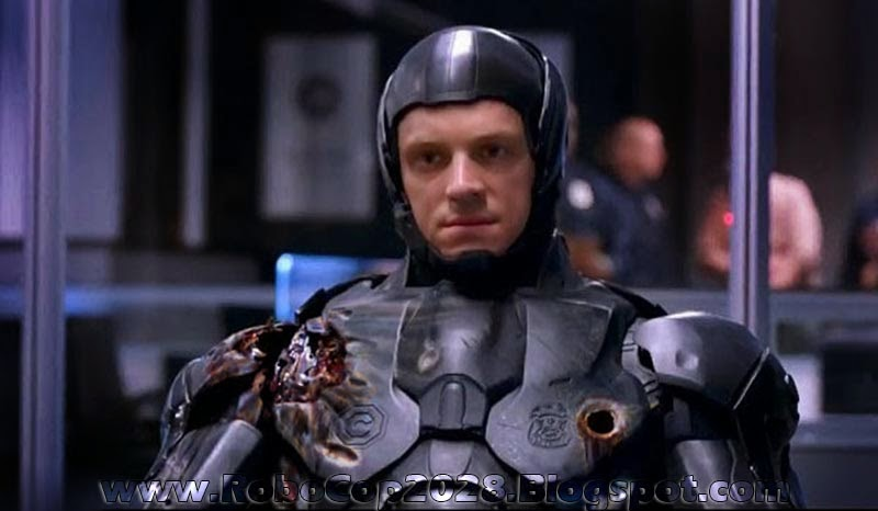 Joel Kinnaman In Damaged 2028 Remake RoboCop Suit