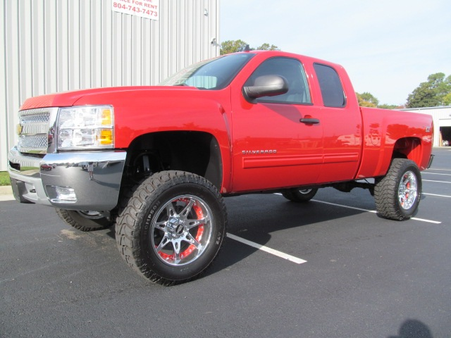Pickup Trucks For Sale 2012 Chevy Silverado Lifted Pickup