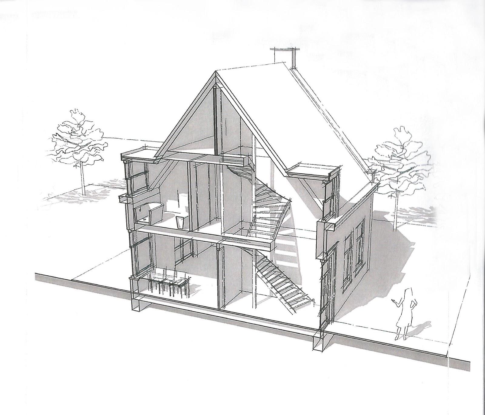 Het bouwen van ons nieuwe huis straat veranderd ontwerp for Huis maken 3d