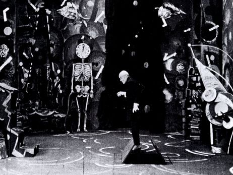A still from the 1920 film Genuine